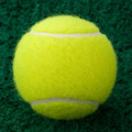 Yellow Tennis Ball Royalty Free Stock Images