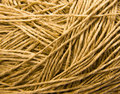 Yellow threads Stock Photography