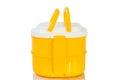 Yellow Tiffin box Royalty Free Stock Photo