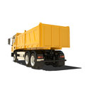 Yellow tipper isolated on white Royalty Free Stock Image