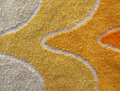 Yellow towel (detail) Royalty Free Stock Photography