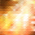 Yellow triangle background abstract Stock Photo