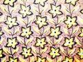 Yellow wallpaper Stock Photo