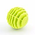 Yellow washing ball plastic balls for machine Royalty Free Stock Image