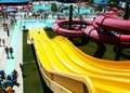 Yellow Water Slide Stock Photo