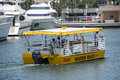 Yellow Water Taxi Royalty Free Stock Photo