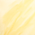 Yellow watercolor painting with blurred color Stock Image