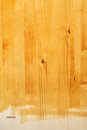 Yellow wood board texture painted with acrylic paint Royalty Free Stock Photo