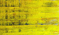 Yellow wood plank panels painted colors background Royalty Free Stock Photo