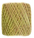 Yellow Yarn spool Royalty Free Stock Photo