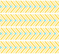 Yellow zigzag pattern with lines and circles