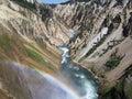 Yellowstone Canyon Royalty Free Stock Photos