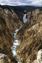 Yellowstone canyon, USA Royalty Free Stock Photos