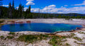 Yellowstone hot spring like a turquoise in Stock Photography