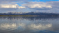 Yellowstone Lake Royalty Free Stock Photo