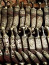 Yemeni daggers - Sanaa souk Stock Photo