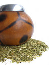 Yerba mate cup Royalty Free Stock Images