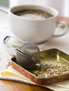 Yerba mate and morning magazine Stock Images