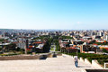Yerevan city view from altitude Royalty Free Stock Images