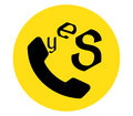Yes Icon for Phone Royalty Free Stock Photo