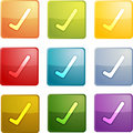 Yes navigation icon Royalty Free Stock Photo
