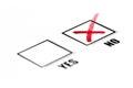 Yes/No Tickbox Arkivbilder