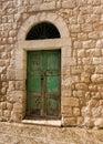 Yesterday a doorway in old bethlehem israel Royalty Free Stock Image
