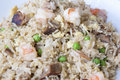 Yeung chow fried rice closeup Imagenes de archivo
