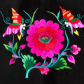 The yi exquisite embroidery embroidery still chinese elements Stock Photography