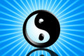 Yin and yang Royalty Free Stock Photo