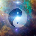 Yin Yang Celestial Stock Photo