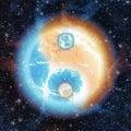 A křižovatka z kosmický energie
