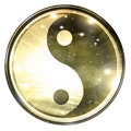Yin Yang sign Royalty Free Stock Photography