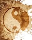Yin Yang sign Royalty Free Stock Photo