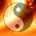 Yin Yang symbol Obraz Stock
