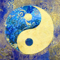 Ying and Yang Royalty Free Stock Photo
