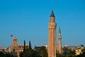 Yivli Minaret, Antalya Royalty Free Stock Photo