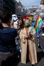 Yoda in Brighton Gay Pride 2011 Royalty Free Stock Photo