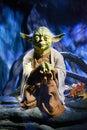 Yoda - Madame Tussauds London Royalty Free Stock Photo