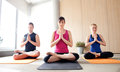 Royalty Free Stock Photos Yoga class