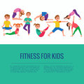 Yoga kids poses