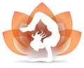 Yoga Lotus Logo