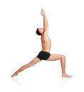 Yoga position Royalty Free Stock Photos