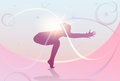Yoga Sport Fitness Woman Exercise Workout Silhouettes Girl