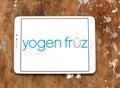 Yogen fruz frozen yogurt franchise logo