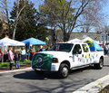 Yogi bear camp resorts truck gloucester virginia april in the daffodil parade on april in gloucester virginia in its th year the Stock Image