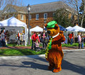 Yogi bear gloucester virginia april in the daffodil parade on april in gloucester virginia in its th year the parade heralds the Royalty Free Stock Photography