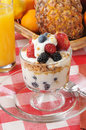 Yogurt parfait Royalty Free Stock Image