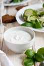 Yogurt sauce Royalty Free Stock Photo