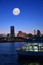 Yokohama, Japan Cityscape Royalty Free Stock Photo